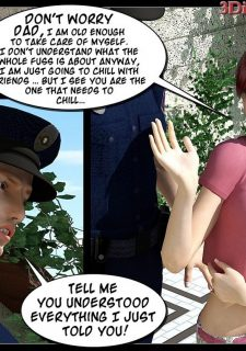 Busted-The Picnic,IncestChronicles3D image 03