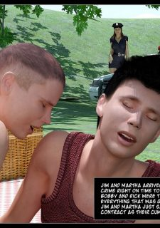 Busted-The Picnic,IncestChronicles3D image 50