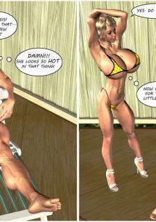Busty Sister's New Bikini- Timdonehy200 image 2