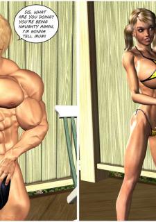 Busty Sister's New Bikini- Timdonehy200 image 7