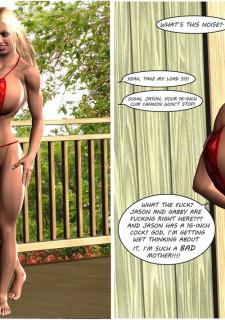 Busty Sister's New Bikini- Timdonehy200 image 21