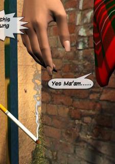Caught Smoking Lesbian Sex image 02