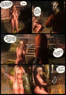 Ciri in Skyrim- Witcher image 2