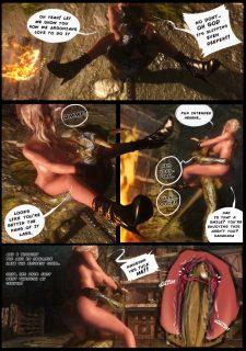 Ciri in Skyrim- Witcher image 5