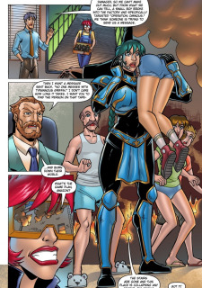 The Cleavage Crusader- Defeated by Deflater image 07