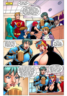The Cleavage Crusader- Defeated by Deflater image 11
