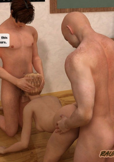 Hot chemistry teacher Fuck raunchy3dschool image 27