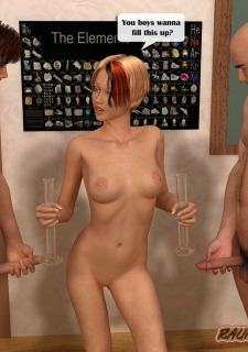 Hot chemistry teacher Fuck raunchy3dschool image 34
