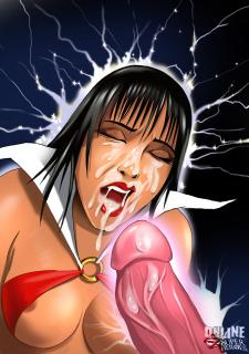 Crossover Heroes- Vampirella Gets Hard Anal Sex porn comics 8 muses