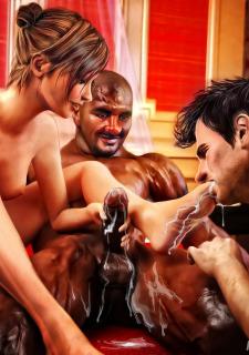 Cuckold Husband Initiation- Interracialsex3d image 13