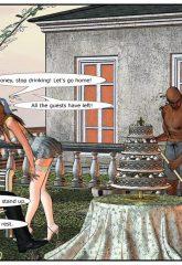 Here Cums The Bride- Interracial image 03
