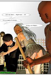 Here Cums The Bride- Interracial image 04