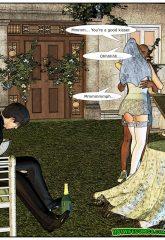 Here Cums The Bride- Interracial image 09