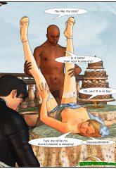 Here Cums The Bride- Interracial image 16