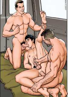 Dad and Boys- Gay image 07