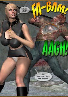 Daphne the Vampire Hunter- DangerBabe Central image 15