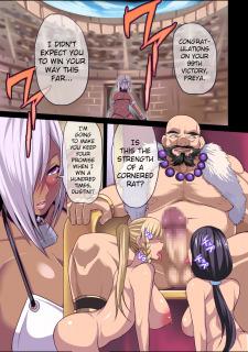 Dark Elf Queen Freya- Colosseum of Humiliation image 5