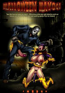 DC Halloween Jack O'Lantern Pumpkin Smudge Supergirl image 21