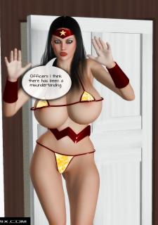 DC Superheroine- Busty Women Lady 4 image 02