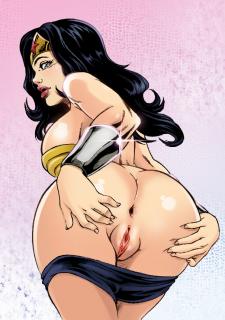 DC Super Heroines Parody image 06