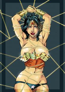 DC Super Heroines Parody image 08