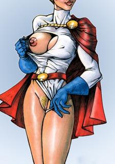 DC Super Heroines Parody image 11