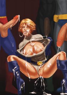 DC Super Heroines Parody image 13