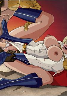 DC Super Heroines Parody image 15