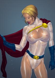 DC Super Heroines Parody image 19