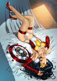 DC Super Heroines Parody image 24