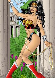 DC Super Heroines Parody image 41