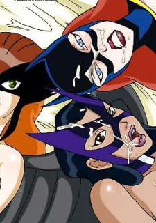 DC Super Heroines Parody image 50