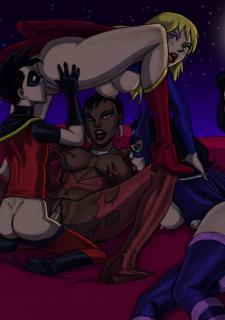 DC Super Heroines Parody image 69