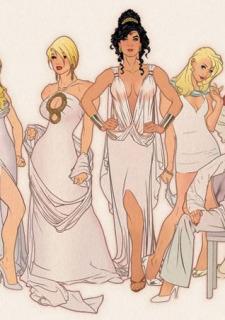 DC Super Heroines Parody porn comics 8 muses