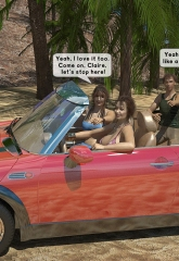 Family orgy at the beach image 02