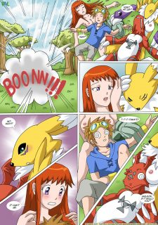 Digimon – New Playmates- Pal Comix image 8