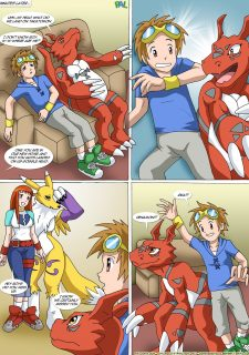 Digimon – New Playmates- Pal Comix image 11