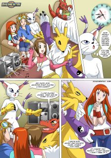 Digimon – New Playmates- Pal Comix image 13