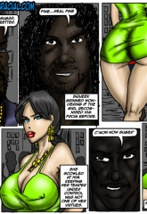 Donna- illustrated interracial image 18