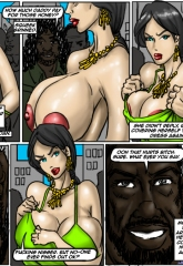 Donna- illustrated interracial image 19