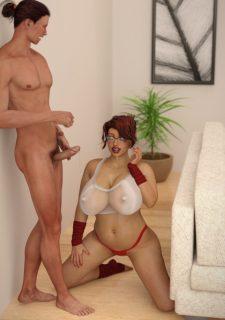 Dr3nchd – Samantha Blush The Lick Test image 41