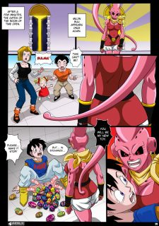 Dragon Ball- Buu's Bodies Ch. 2- Bulma image 21