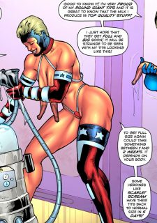 Drained Tits – StarBusty- Superheroine image 4