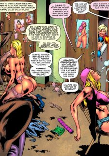 Drained Tits – StarBusty- Superheroine image 11