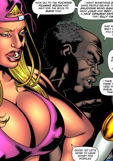 Drained Tits – StarBusty- Superheroine image 15