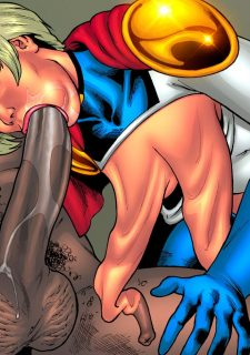 Drained Tits – StarBusty- Superheroine image 18