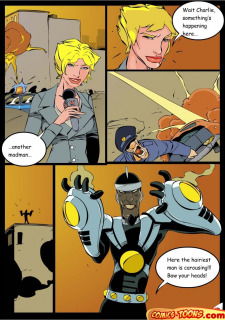 Dr. Light And Bumblebee (Teen Titans) image 4