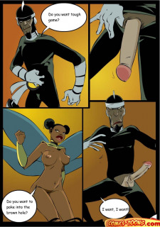 Dr. Light And Bumblebee (Teen Titans) image 12