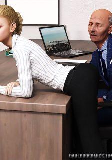 Elsa Hot daughter at work image 6