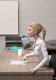 Elsa Hot daughter at work image 7